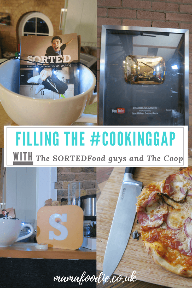 Filling the #CookingGap with SORTED Food and The Co-op