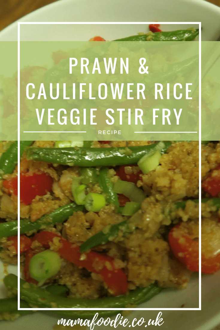 Prawn and Vegetable Stir Fry with Cauliflower Rice