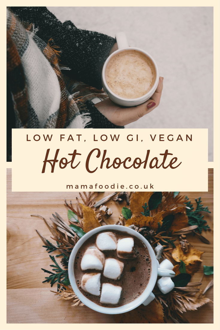 Low Fat Low GI Vegan Hot Chocolate